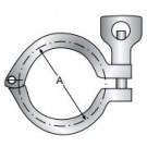 Heavy Duty Clamp, Wing nut with Hole